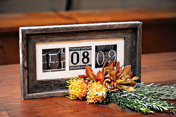 Fab Find/DIY Craft: Wedding Date Frame/Keepsake - Your LifEvents