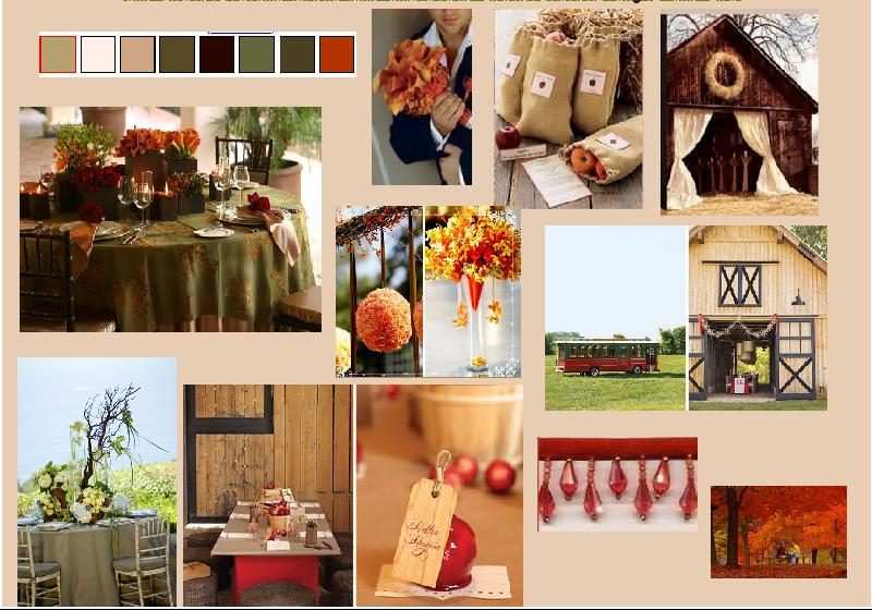Fall for Your Fall Wedding Inspiration Board